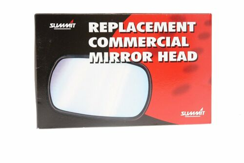 """Summit Replacement Commercial Wing Mirror Flat Glass Only 7/"""" x 5/"""" Universal New"""