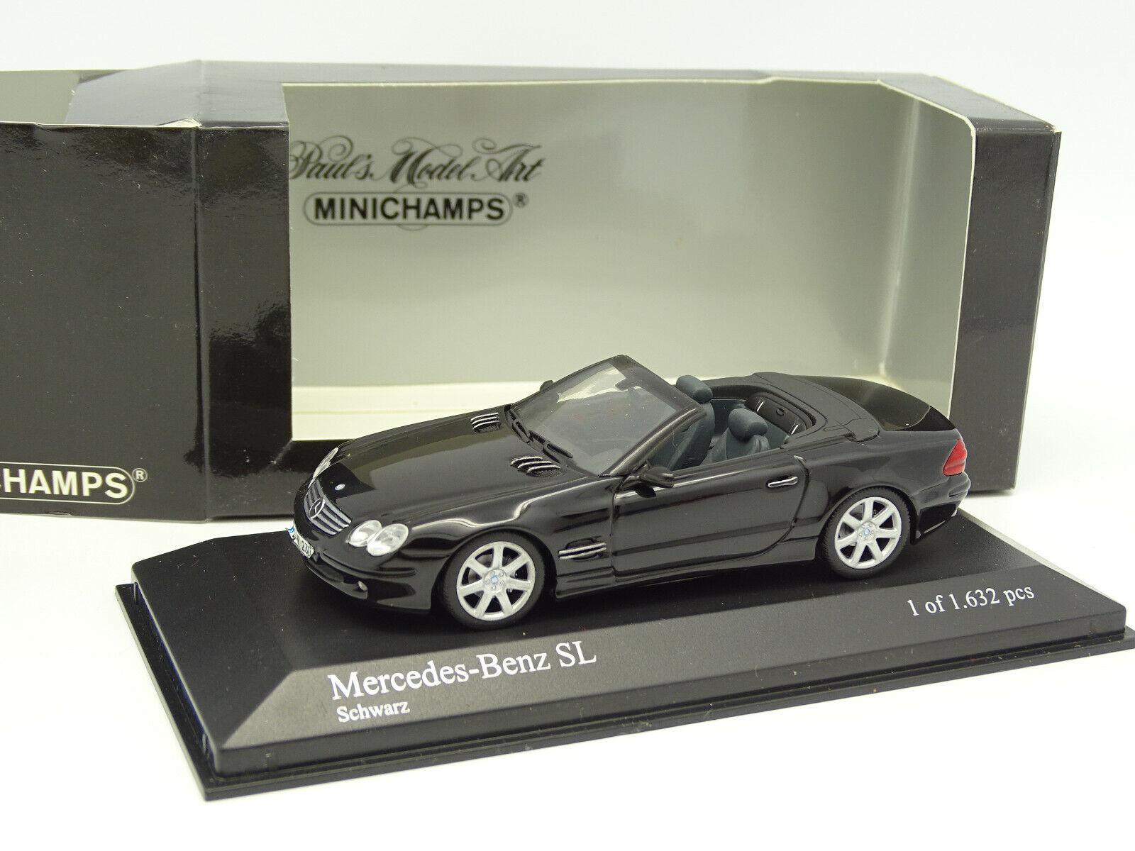 Minichamps 1 43 - Mercedes SL blacke 2001