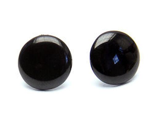Ks015sr aretes píldoras-plata 925-1,4 cm blanco rojo negro *