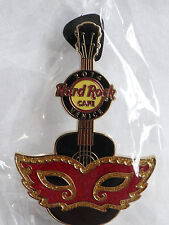 Hard Rock Cafe Venice Italy Carnival Mask Guitar Pin Venezia Carnevale 2014