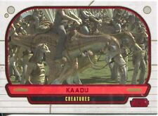 Star Wars Galactic Files Red Parallel #297 Kaadu