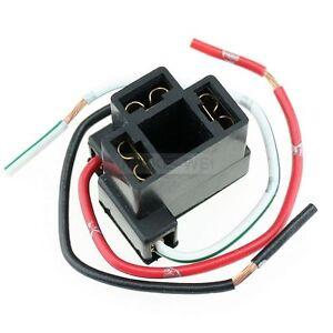H4 Female Plug Socket Connector Wiring Car Pre Wire Headlight Fog Light Adapter