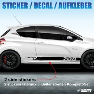 Details About 948 Kit Déco Autocollant Sport Peugeot 208 Sticker Decal Aufkleber Adesivo