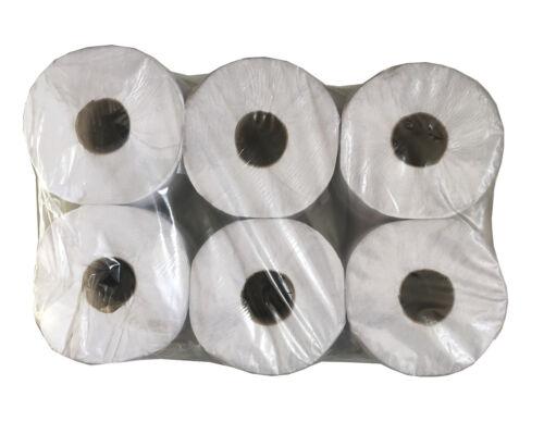 Entrega Gratis 6 rollos de papel higiénico Jumbo industrial 2-Ply 95 Mm x 150 M
