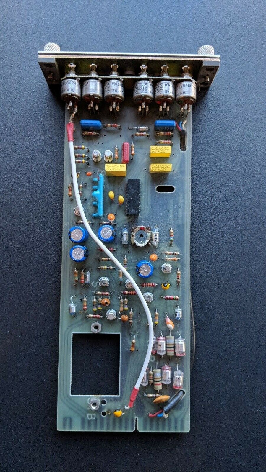 Re-Capped Studer 1.080.982-11 Audio Record Card for B62 (Transformerless Modded)