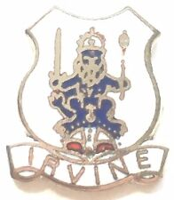 Scotland Tartan Scottie Dog Enamel Lapel Pin Badge T1130