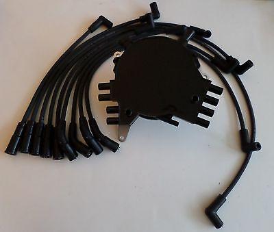 PONTIAC FIREBIRD 95-97 LT1 5.7L 350 OPTISPARK Distributor,BLACK Spark Plug Wires