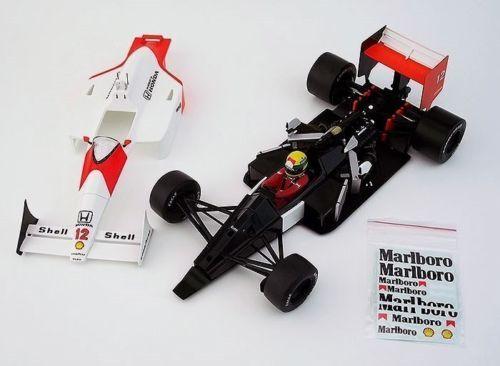 McLaren MP4 4 Honda V6 Ayrton Senna 1988 Champion IXO PREMIUM Marlboro 1 18