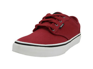 7d7c8f297b516c Image is loading Vans-Atwood-Canvas-Red-Chili-Pepper-Shoes-Youth-