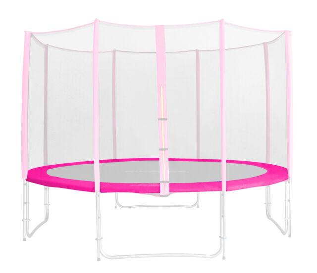 SixBros. Randabdeckung Pink Gartentrampolin Federabdeckung Größen 185 - 460 CM