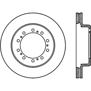 disc brake rotor premium disc preferred rear front centric 120 80001 Future School Bus image is loading disc brake rotor premium disc preferred rear front