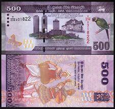 Sri Lanka 500 Rupees 2010.01.01 Drummer//Dancer//Bird//p126a UNC