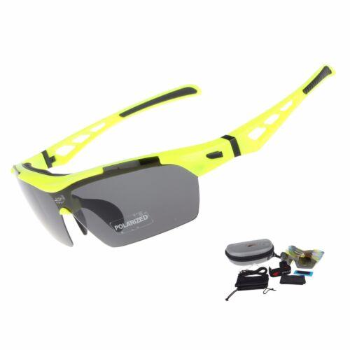 EOC Polarized Cycling Glasses Bike Goggles Fishing Sunglasses UV400 5 Lens ST808