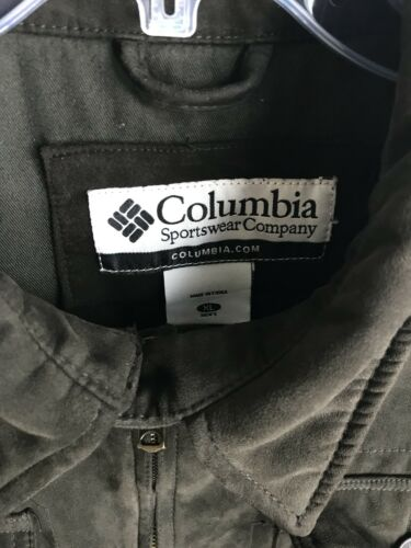 reg Up Microfiber Cotton Polyester Zip knappers 174 4 lommer Lined Columbia wYzxS7pz