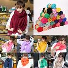 Autumn Women Long Candy Color Soft Cotton Scarf Wrap Shawl Scarves Fashion Stole