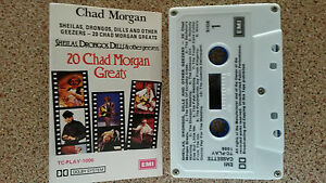 CHAD-MORGAN-SHEILAS-DRONGOS-DILLS-amp-OTHER-GEEZERS-CASSETTE-TAPE-20-GREATS