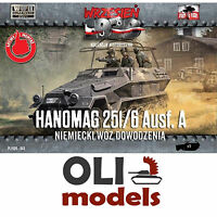 1/72 Wwii Hanomag Sd.kfz. 251/6 Ausf.a Command Halftrack - First To Fight 043