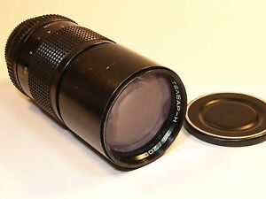 Telear-N-3-5-200mm-MC-Tele-Lens-Full-frame-863976-Ai-F-Nikon-bayonet