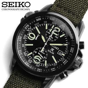 SEIKO-PROSPEX-SOLAR-MILITARY-ALLARM-SSC295P1-GARANZIA-ITALIA