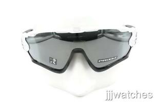 af742153bb7 Image is loading New-Oakley-Jawbreaker-Polished-White-PRIZM-Black-Iridium-
