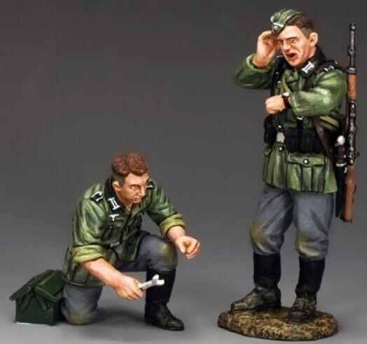 KING & COUNTRY WW2 GERMAN ARMY WS249 BREAK DOWN MB