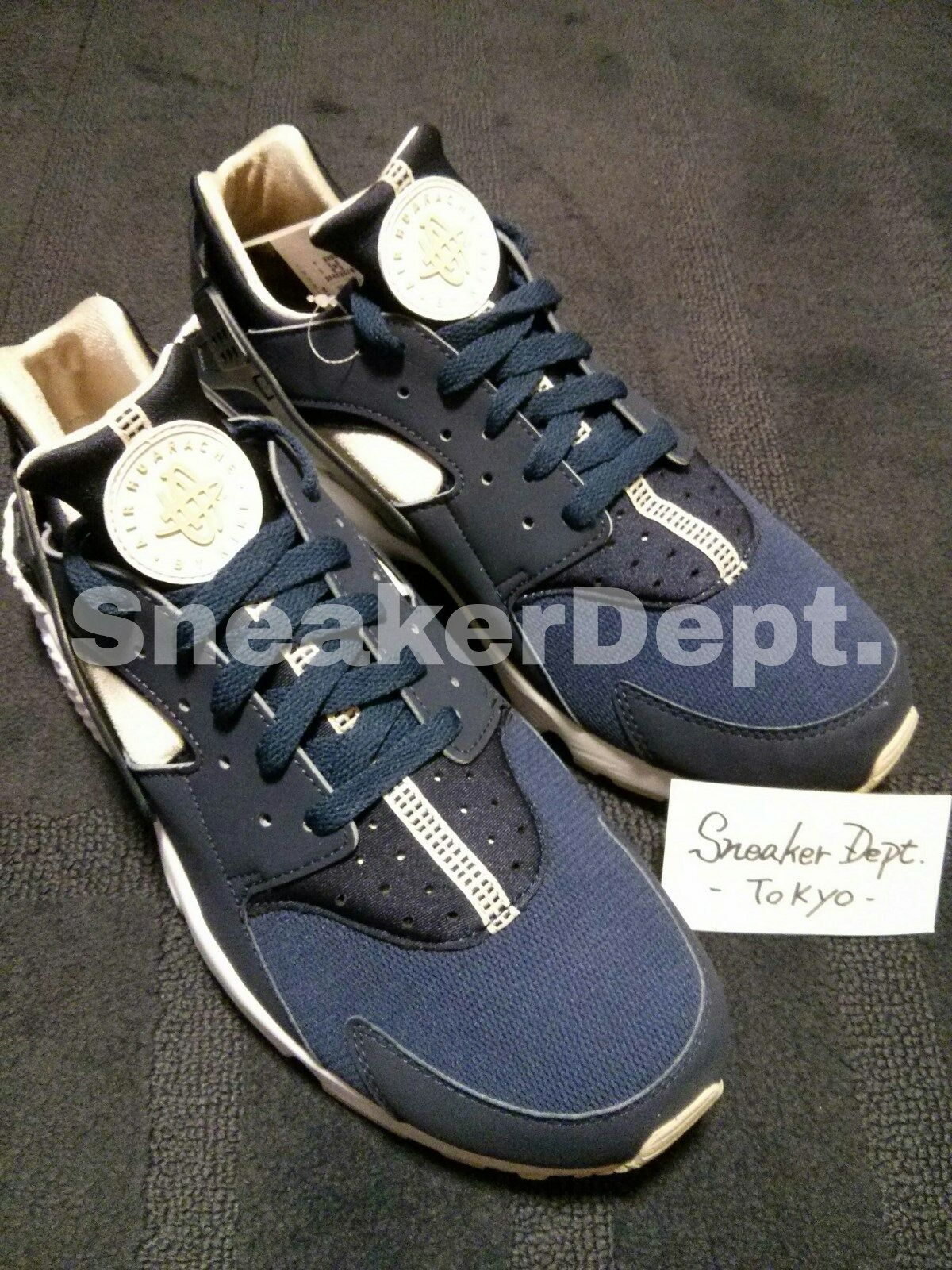 DS 2015 2015 2015 NIKE AIR HUARACHE 318429-410 huarache nsw qs Navy US12 406576