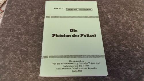 Die Pistolen der Polizei DDR Berlin 1950