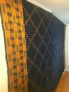 Vintage-large-African-EWE-hand-woven-cloth