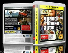 (PS3) Grand Theft Auto IV / GTA 4 (Platinum) (MA) w/ Map, Guaranteed, Tested