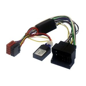 audi a3 a4 car stereo iso wiring lead for bose amp with. Black Bedroom Furniture Sets. Home Design Ideas