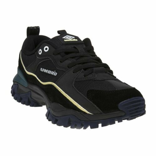 Trainers Umbro Leather Mens New Chunky Up Bumpy Lace Black w6qXHHB5Sg