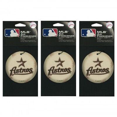 Aufstrebend 3-pack Houston Astros Baseball Auto Lufterfrischer Wald Kiefer Mlb Online Shop