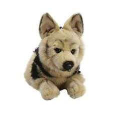 German Shepherd Plush Soft Toy - Living Nature Large Novelty Cuddly Stocking