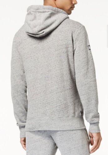 Superdry Men/'s Urban Grey Grit 1//4 Zip Pullover Hoodie