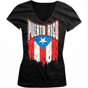 Puerto Rico Rican Flag Bandera Spanish Pride FREE SHIPPING New Mens T-shirt