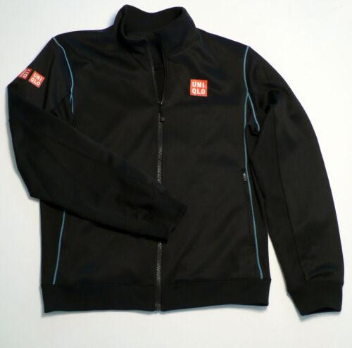 UNIQLO Novak Djokovic Tennis Warm Up Jacket - Blac