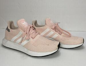 Adidas Swift Run W Womens Running Sneaker Shoes Ice Pink B37681 Size 6 Ebay