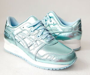 huge selection of aa3d0 17f7d Details about ASICS Women's GEL-Lyte III Retro Running Shoe Size 7.5 B (US)  Light Blue