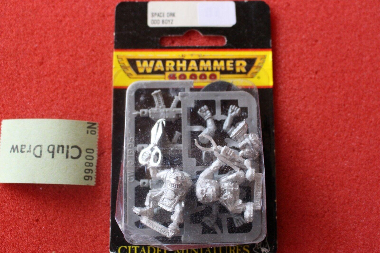 Games Workshop Warhammer 40k Orks Painboys Painboy 2 Metal Figures 1990 WH40K GW