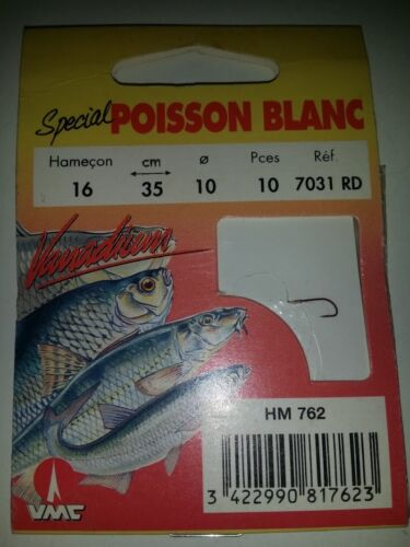 VMC SPECIAL POISSON BLANC 7031 RD VANADIUM AMI LEGATI
