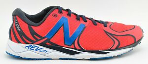 new style f794c dcc46 Details about MENS NEW BALANCE RC1400 V3 RUNNING SHOES SIZE 8 US 41.5 EU  RED GRAY BLUE WHITE