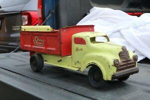 Lincoln-Juguete-Olsen-camion-cuerpos-Camion-hecho-En-Canada-Acero-Prensado