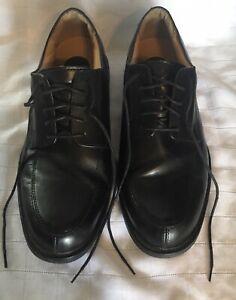 CROFT & BARROW  BLACK CAPTOE OXFORD CORE TECHNOLOGY  MENS SIZE 11 1/2 Wide