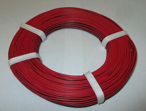 (1 M = 0,279 Euros €) Jumelle Lacet Rouge/noir 50 M -- Neuf -- Jolie Et ColoréE