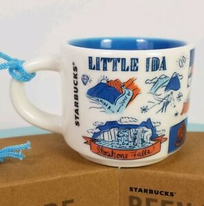 Starbucks-Idaho-Mini-BEEN-THERE-Ornament-2019-Coffee-Cup-Mug-Demitasse-Shoshone