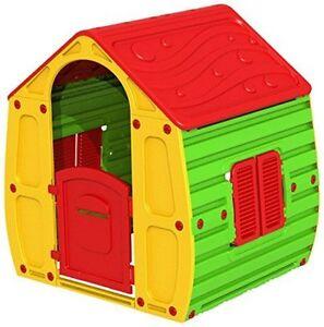 Casetta gioco da giardino per esterno bambini casa con for Casetta giardino bimbi usata