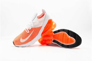 pretty nice c5878 4bdc8 Details about Nike Wmns Air Max 270 Flyknit Crimson Pulse AH6803-800 Size  5.5 UK