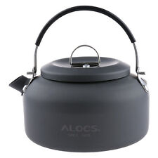 0.8L Outdoor Ultra-light Coffee Pot Water Kettle Anodised Aluminum Camping