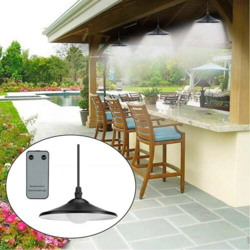 Home Solar Powered Light Lamp for Patio Decking Hanging Garage Shed Decor