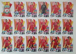 2020-21-Match-Attax-UEFA-Champions-League-Liverpool-team-set-18-cards